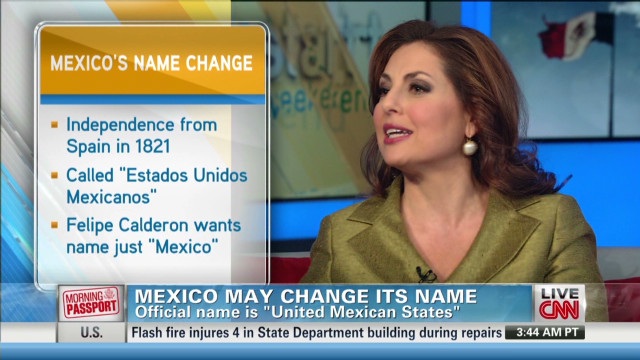 Mexico may change name to 'Mexico'