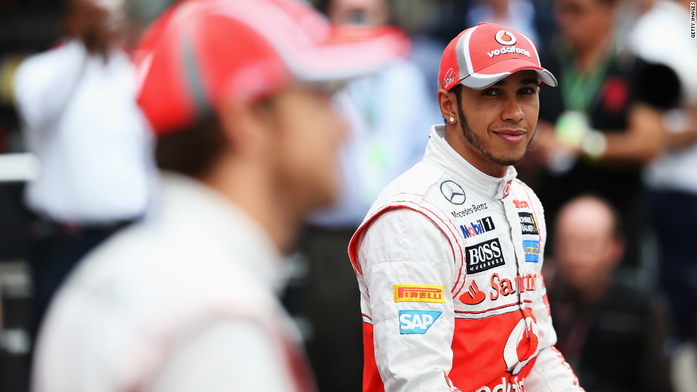 Hamilton started the day on pole position ahead of his McLaren teammate Jenson Button. Brazil holds fond memories for Hamilton, who won the drivers' title at Interlagos back in 2008.