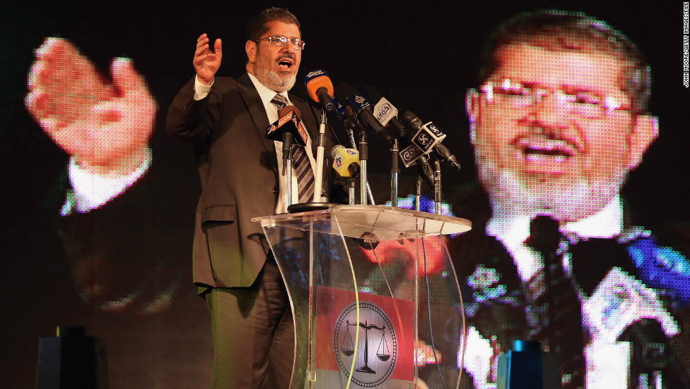 <strong>2. Mohamed Morsy</strong>The Muslim Brotherhood candidate became Egypt's first democratically elected leader in June, but he has had a controversial first six months in power. There have been widespread protests and violence since Morsy issued an order in November preventing any court from overturning his decisions. Morsy, who was held as a political prisoner under former president Hosni Mubarak, said the move was necessary and temporary, and has since rescinded some of the powers. However, that has done little to quell opposition.