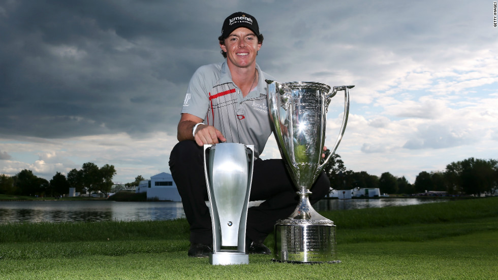 The following week the 23-year-old was in the winner's circle again, this time taking top honors at the BMW Championship. He became the first player to record back to back victories on the PGA Tour since Tiger Woods in 2009.