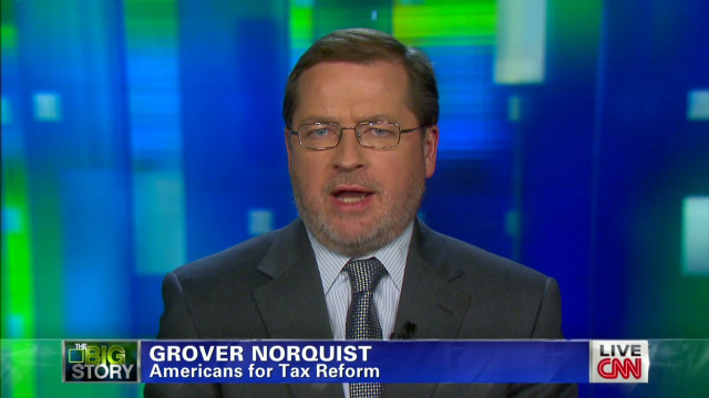 Grover Norquist defends tax pledge