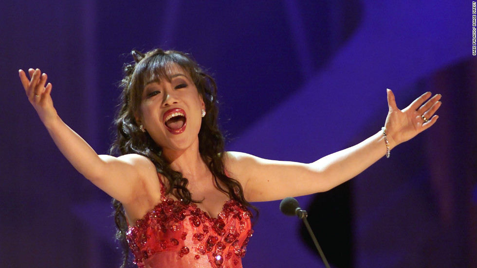 Sumi Jo performing at The Nobel Peace Prize Concert in Oslo, Norway in December 2000.