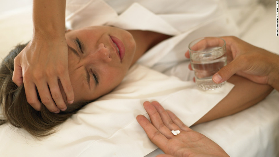 "<strong>Myth: Pain medicine before or after bed</strong>Taking aspirin or another pain medication to combat a hangover headache can be tricky.Taking it after a night of drinking before bed is definitely not recommended, Murray says, because the medication can adversely interact with your body or with the alcohol.For example, taking an acetaminophen-based medicine (such as Tylenol) with alcohol can cause liver damage, while taking aspirin in conjunction with heavy daily alcohol use has <a href=""http://www.fda.gov/drugs/resourcesforyou/consumers/questionsanswers/ucm071879.htm"" target=""_blank"">bleeding risks</a>.Taking ibuprofen upon waking is appropriate, if there are no signs of nausea or upper abdominal pain. However, ""It's probably better to wait,"" and drink water first, Murray says."