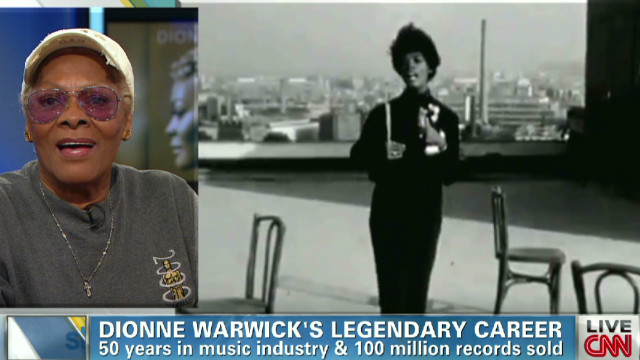 Dionne Warwick talks legendary career