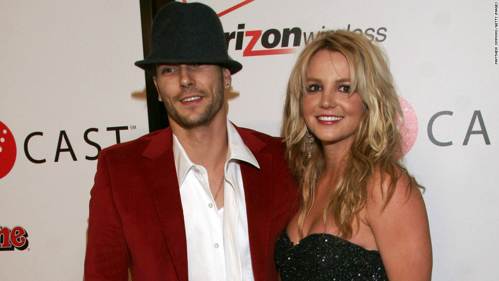 "The courts awarded custody of Britney Spears' two sons to their dad, Kevin Federline, in 2007, and at one point Spears <a href=""http://www.cnn.com/2007/SHOWBIZ/Music/10/18/britney.children/index.html"" target=""_blank"">actually lost the right</a> to visit the kids. Spears and Federline are said to be on better terms these days, and she is often photographed with their boys."