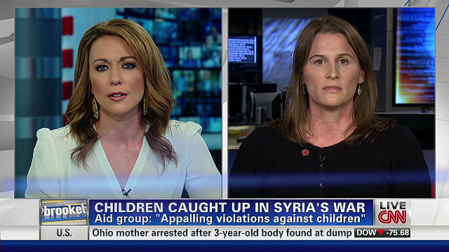 Children caught up in Syria's war