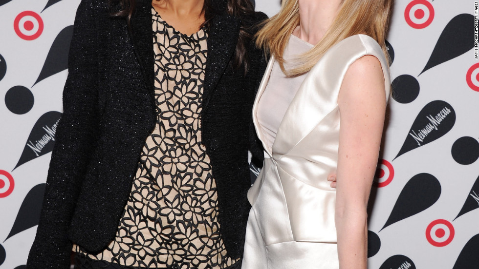 Zoe Saldana and Kate Bosworth attend an event for Target and Neiman Marcus in New York City.
