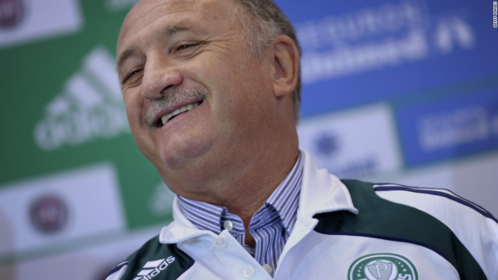 Scolari joined Sao Paulo-based Palmeiras in 2010. With his team struggling, Scolari departed the club in September. Palmeiras were consequently relegated to Brazil's second tier.