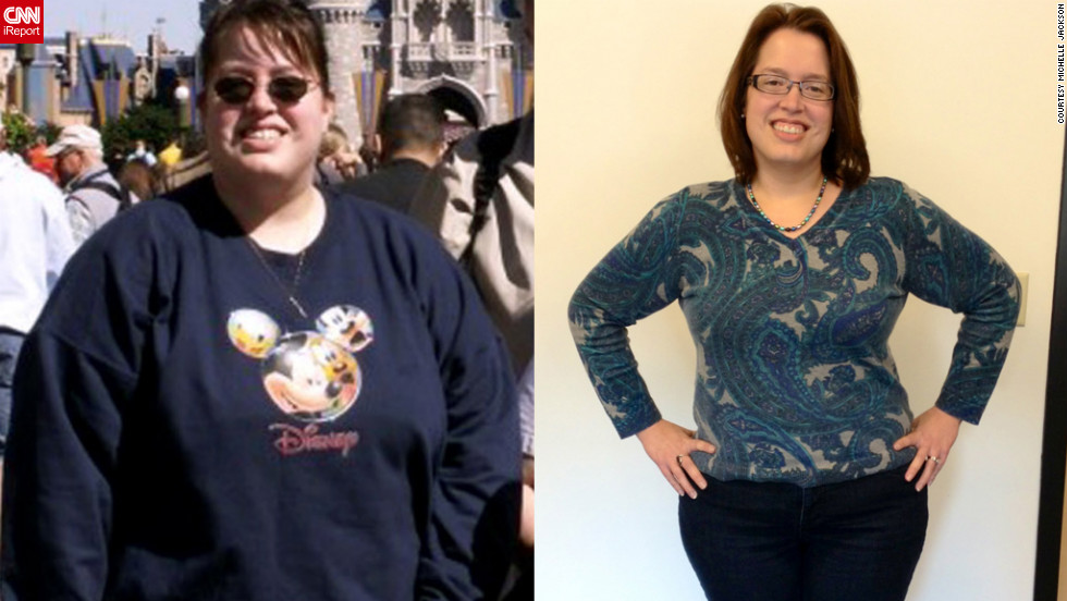 "Michelle Jackson was terrified to turn 40 in 2013, fearing that a slowing metabolism would prevent her from ever getting healthy. Determined to take control, she <a href=""http://www.cnn.com/2012/08/31/health/fitness-before-forty-weight-loss/index.html"">dropped 100 pounds</a> in less than two years and has continued to maintain her weight loss. Even her 10-year-old son has been inspired to pick up healthier habits."
