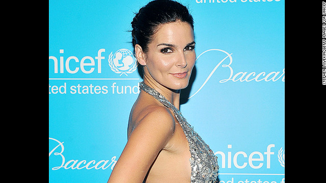 NEW YORK, NY - NOVEMBER 29:  Angie Harmon attends 2011 UNICEF Snowflake Ball at Cipriani 42nd Street on November 29, 2011 in New York City.  (Photo by Stephen Lovekin/Getty Images for UNICEF)