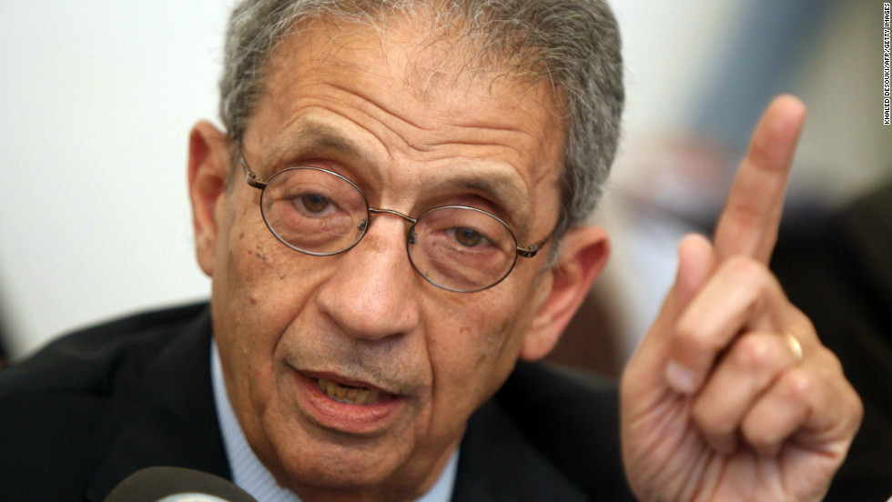 Amr Moussa Fast Facts