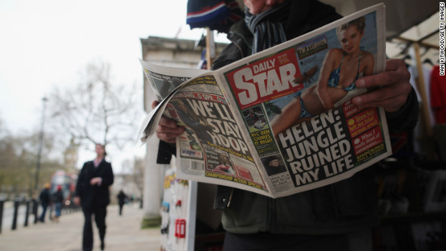 The British grumble about their newspapers, but continue to buy them. Will they change their ways after Leveson?