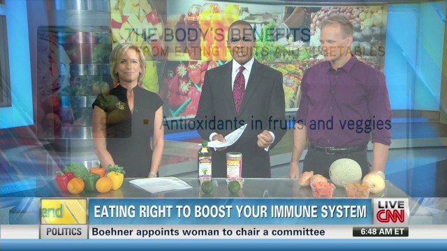 Eating right to boost your immune system
