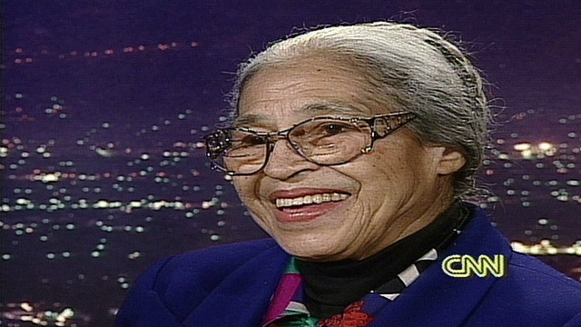 1995: Rosa Parks says she isn't bitter