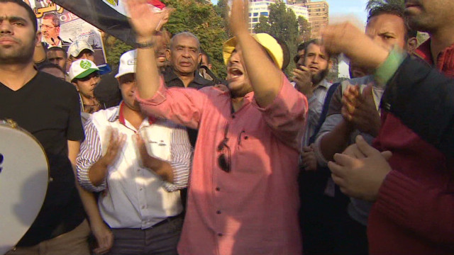 Pro-Morsy supporters turn out in force