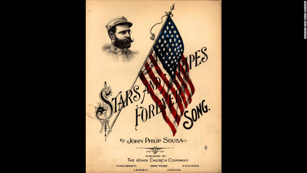Sheet music for Stars and Stripes