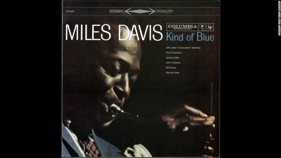 "The best selling jazz record of all time, Miles Davis's ""Kind of Blue"" album from 1959. It has reportedly sold over 20 million copies."
