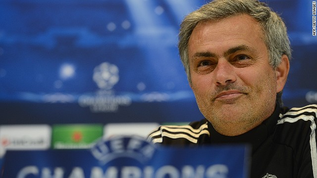 Jose Mourinho talked to reporters on Monday ahead of Real Madrid's Champions League clash with Ajax.