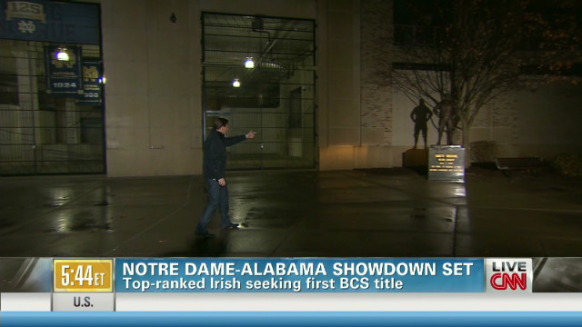 Notre Dame vs. Alabama for BCS title