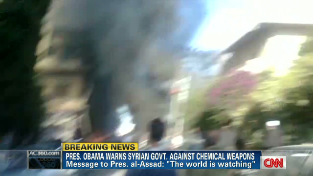 Syria's chemical weapons 'deadly serious'