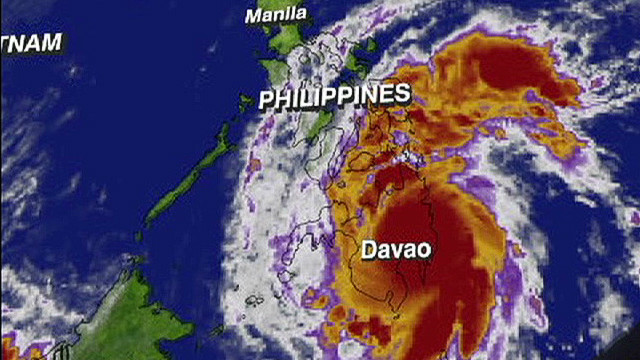 Typhoon Bopha not finished yet
