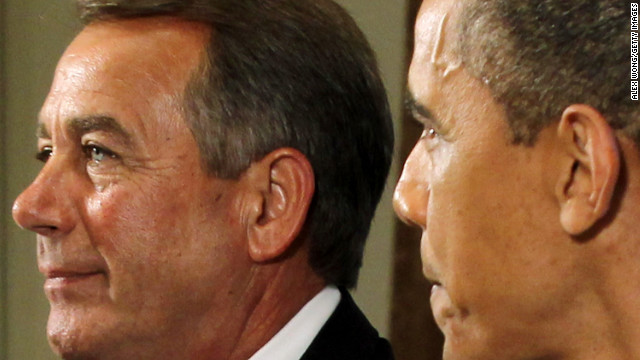 Obama and Boehner break fiscal cliff ice