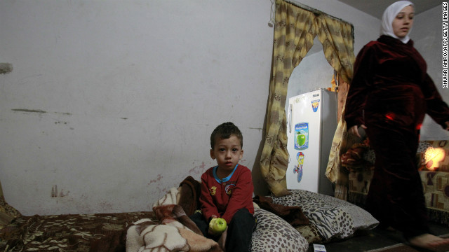 Syrian refugees' misery