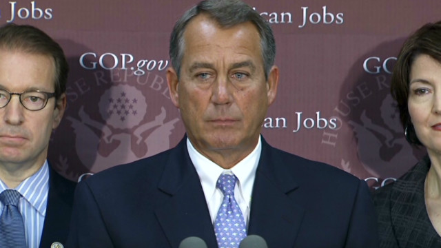Boehner calls for sit-down with Obama
