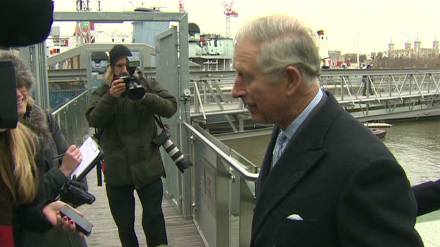 Prince Charles 'thrilled' at baby news