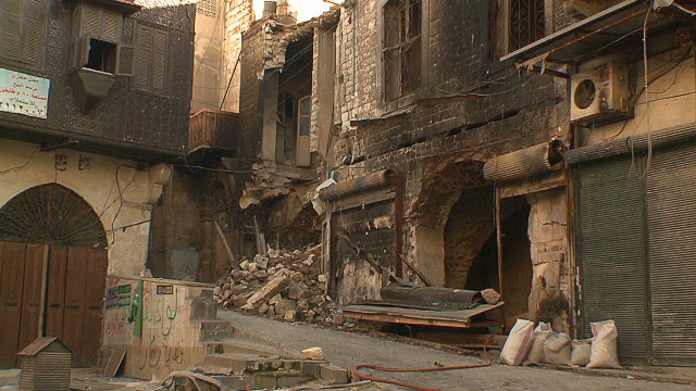 Inside Syrian city scarred by war