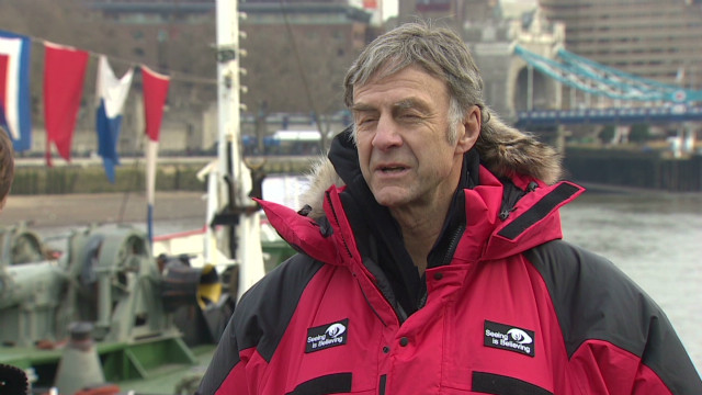 Ranulph Fiennes on Antarctic adventure