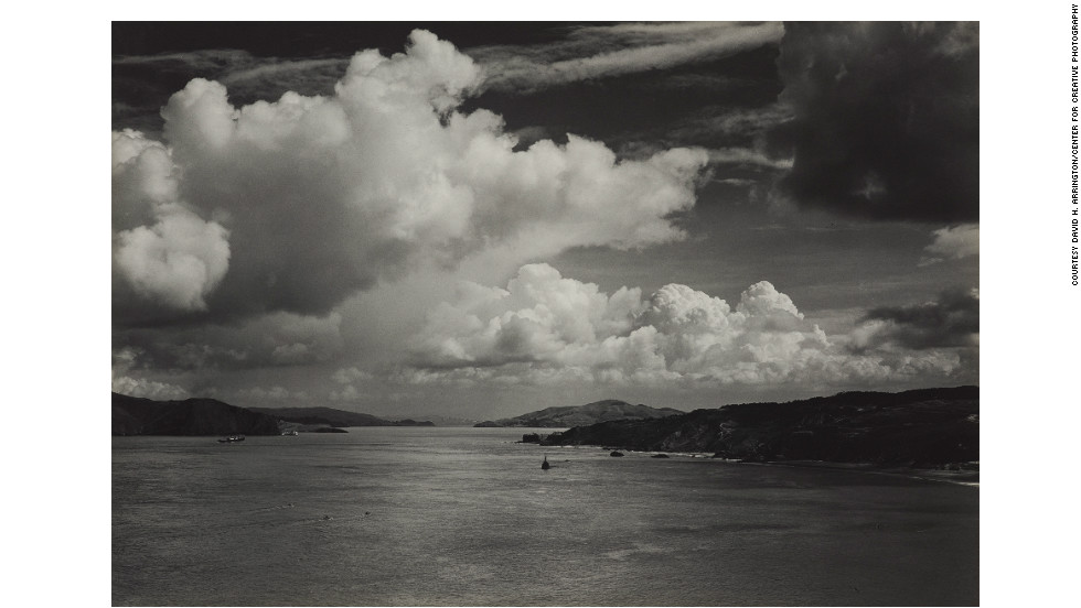 The Golden Gate before the Bridge, San Francisco, about 1932.