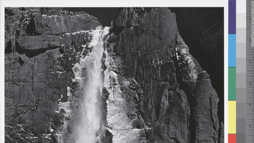 Upper Yosemite Fall, Yosemite Valley, circa 1960.