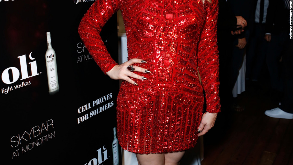 Fergie hosts Voli Light Vodka's holiday party in West Hollywood.