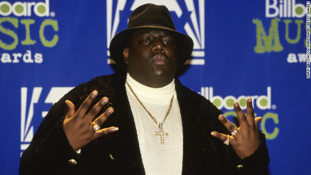 "Christopher ""Notorious B.I.G."" Wallace attends the 1995 Billboard Music Awards in 1995 in New York. He was killed in 1997."