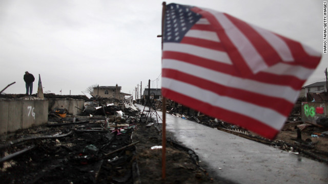 Sandy relief funds stalled in Washington