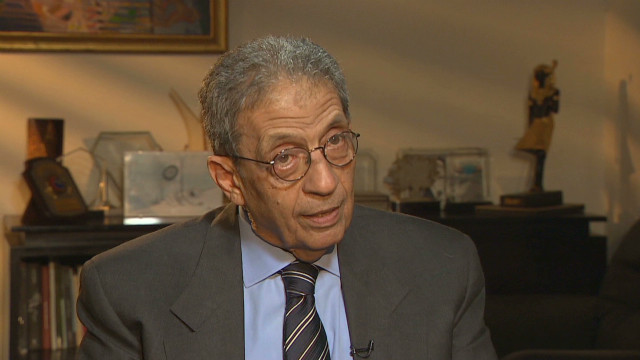 CNN exclusive with Amr Moussa