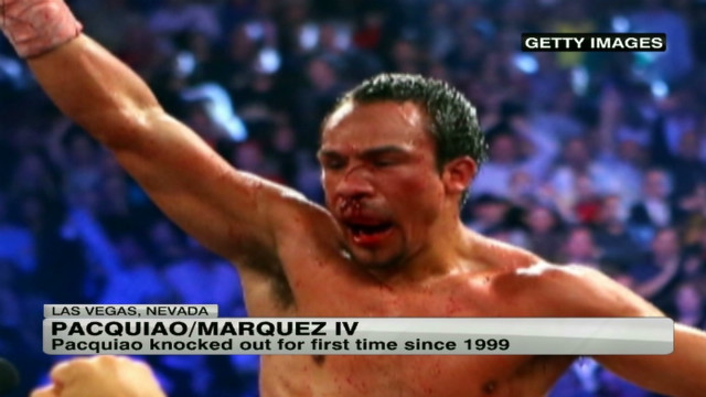 Marquez knocks Pacquiao out cold