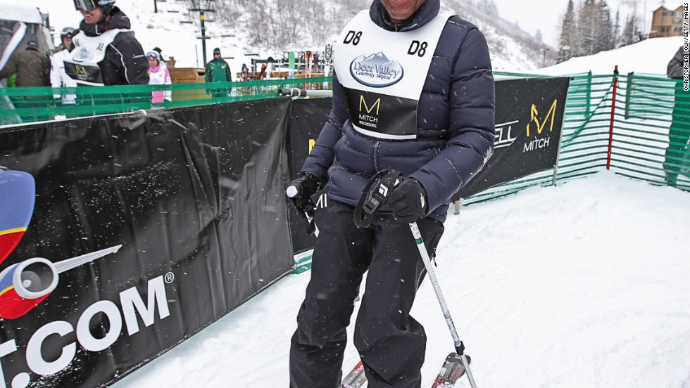 Giancarlo Esposito attends the 2012 Deer Valley Celebrity Skifest in Park City, Utah.