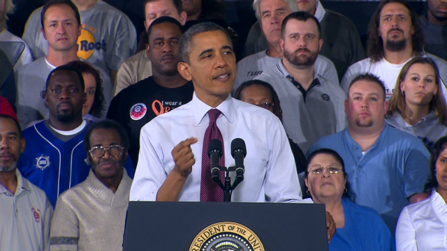 Obama: Unions built a stronger America
