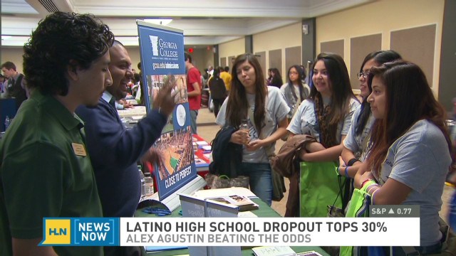 Helping Latinos stay in school