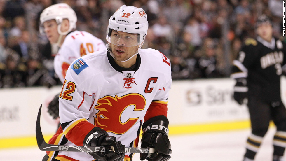 A 6-foot-1, 215-pound winger from Edmonton, Alberta, Jarome Iginla did it at every level. After winning consecutive championships with the Western Hockey League's Kamloops Blazers, he made his NHL debut at age 18 with the Calgary Flames -- during the 1996 playoffs. Since then, the six-time All-Star has racked up 516 goals and 557 assists and holds the honor of being the first black captain in league history. On the world stage, he owns five gold medals, including two from the 2002 and 2010 Olympics.