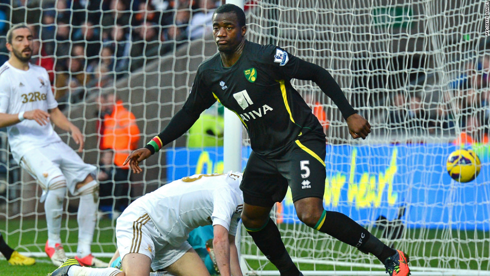 The day before the Manchester derby, a man was arrested and charged for racially abusing Norwich's Cameroon international Sebastien Bassong in a Premier League match at Swansea. Norwich later revealed that police are investigating four separate racist attacks on Bassong.