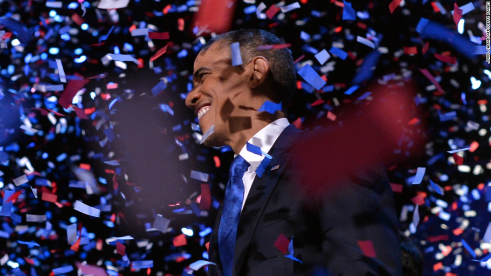 After almost a full 12 months of campaigning, hundreds of hours on the road and billions of dollars spent on the election, President Barack Obama was re-elected with 51% of the popular vote. He also won 332 of the 270 electoral college votes needed to return to the White House for another four years.