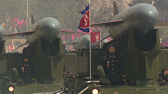 Visiting N. Korea during rocket launch