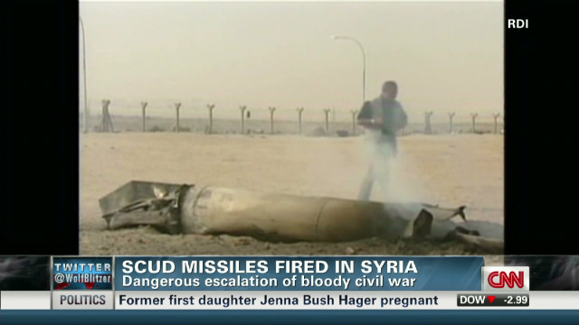 Is Syria using Scud missiles?