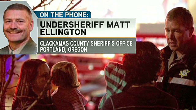 Two shot dead inside Oregon mall
