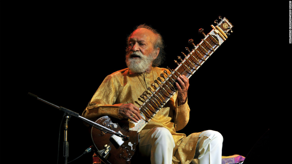 Shankar plays during the Premaanjali Festival 2012 on February 7 at the palace in Bangalore, India.