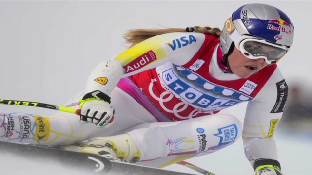 Lindsey Vonn vows to take on the men