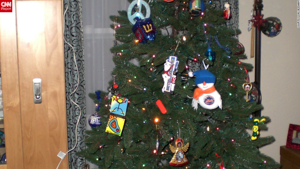 """For me, Chrismukkah represents our relationship at its best,"" said Cassie Pham, who is <a href=""http://ireport.cnn.com/docs/DOC-893909"">celebrating the holiday</a> for the first time this year. ""We blend our two cultures and lives together not just during this time, but through the year and different events in our families."""